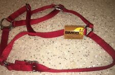 NWT Simco Red Vintage Horse  Bridle
