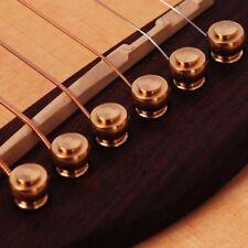 6pcs/set Metal Copper Bridge Pins For Acoustic Guitar Strings Accessories