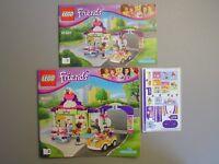 LEGO NEW Friends 41320 Heartlake Frozen Yogurt Shop INSTRUCTIONS & STICKERS ONLY