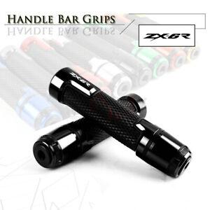 7/8'' Handlebar End Plug Hand Grips Bar for KAWASAKI ZX6R NINJA 636 ZX636 636R