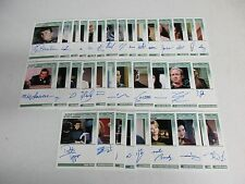 Star Trek TNG Portfolio Prints Series 1 -34 Card LIMITED Autograph Set Missing 2