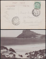 CAPE COLONY 1908 photo card HOUT BAY 'Sentinel' via WYNBERG to THREE ANCHOR BAY