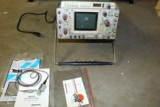 Tektronix 466 Storage Oscilloscope Dual-Trace 100MHz w/ DM44 Digital Multimeter