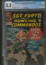 MILITARY SECTION: SGT. FURY AND HIS HOWLING COMMANDOS # 25 CGC 5.5