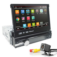 "Universal Single 1DIN 7"" Android 7.1 WIFI BT GPS Navigation Car Radio DVD Player"