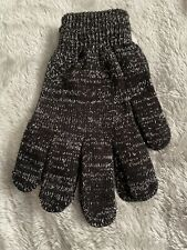Pugs - Strech Gloves - Black And Silver