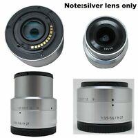 9-27mm F/3.5-5.6 ED OIS NX Mini NXF1 9mm Silver Lens For Samsung NX Mini Camera