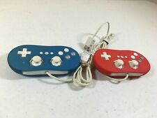 Nintendo Wii Classic Controller Authentic Set of Two