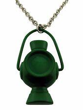 Green Lantern Comic Pendant Necklace Dog Tag Logo USA American Superhero Men New