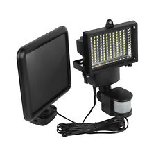 100LED Solar Light PIR Motion Sensor Security Flood Light Outdoor Garden Lamp