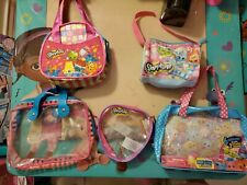 Pre Owned Lot Of 5 Girls Shopkins Purses and bags