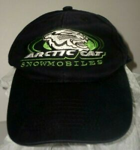 Genuine Arctic Cat Snowmobiles Snapback Ball Cap Hat Low Profile South Central
