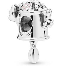 Authentic PANDORA 925 Ale Flower Blooming Watering Can Charm Pendant 797873ENMX