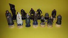 Piezas del Ajedrez El Señor de los Anillos /// Lord of the Rings Chess Pieces