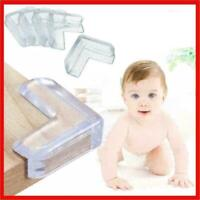 4pc Child Safety Anti-collision Angle Double-sided Thick Table Glass Corner Y4L4
