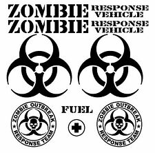 Jeep Decal | WRANGLER Hood Fender Window Door Decal rubicon sahara JK Zombie