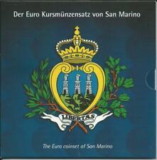 San Marino Euro Münzen Kursmünzensatz 2002 Deutsche Ausgabe