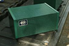 Rare Pair Of Amplifier Cages, For Bigg Of California Bp 40 K Amplifiers! Green!