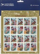 USPS Sheet of Stamps The Art of Disney Celebration Mickey Mouse Pane MNH 3912-15