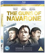 The Guns of Navarone 1961 World War II Ww2 Classic UK Blu-ray With Slipcover