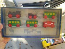 LOCAL PASSENGER TRAIN TC Timber Vintage Sealed  NIB Rare!    HTF