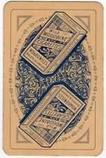 Playing Cards 1 Single Swap Card - Old WILD WOODBINE Cigarettes Packet Smoking 1