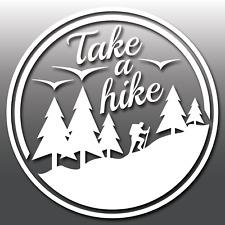 Tome una caminata Coche Caravana Camper Van Portátil Camping Aventura Vinilo Autoadhesivo Con
