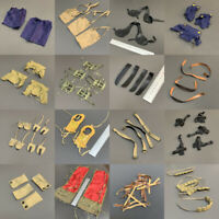 """Lots GI JOE Accessories For 12"""" Action Figure 1:6 21st Century WWII Soldier Toys"""