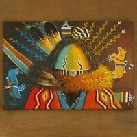 Limited Ed 24 x 36 Yei Sandpainter Navajo Giclée Print by JC Black NOW ON SALE
