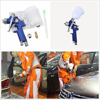 0.8mm Mini Gravity Feed HVLP Touch Up Autos Body Paint Sprayer Air Spray Gun Kit