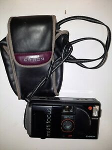 Chinon Auto 3001 Multi Focus Point Shoot Film Camera And Case Tested JCII passed