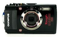 Olympus Stylus Tough TG-3 16.0MP Digital Camera HD 1080p Waterproof Wi-Fi, GPS
