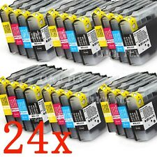 24x INK LC40 LC73 LC77 XL for BROTHER MFC-J430W MFC-J432W MFC-J625DW MFC-J825DW