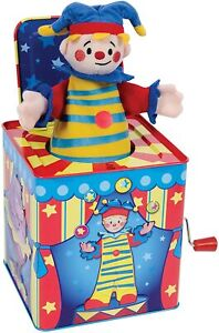 Schylling Silly Circus Jack In The Box # SCJB