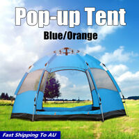 5-8 People Waterproof Automatic Instant Pop Up Tent Outdoor Camping Hiking Tent