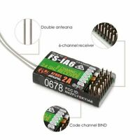 FS-iA6 6 Channel 6CH 2.4GHz RC Receiver for Flysky i4 i6 i10 GT2E Transmitter pf
