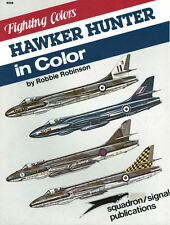 SQUADRON SIGNAL FIGHTING COLORS HAWKER HUNTER RAF SQNS CFE DFLS AEROBATIC TEAMS