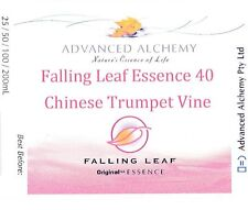 Falling Leaf Essence #40 Recovery - Advanced Alchemy 50ml Chinese Trumpet Vine