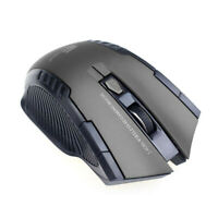 2.4Ghz Optical Wireless Mouse Scroll USB Mice For PC Laptop Computer Gray v