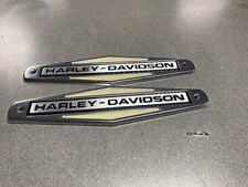 66-71 HARLEY DAVIDSON GAS TANK EMBLEMS OEM # 61771-66TB