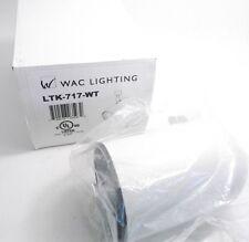WAC LTK-717-WT L Series Line Voltage Track Head - White - Prepaid Shipping