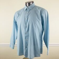 Ben Sherman The Original XL Button Down Front Long Sleeve Dress Shirt Sky Blue