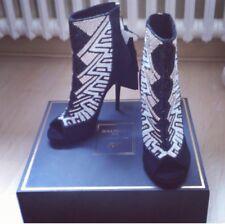H&M Balmain HM Sandaletten 41 Schuhe High Heels Shoes Stiefeletten Stiefel Boots