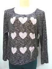 NEW FOX RACING MOTOCROSS COLD HEART L/S PULLOVER TEE SHIRT TOP CAMI SMALL S150
