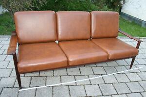 DANISH Design Sofa COUCH MODERN Mid Century 70er Teak