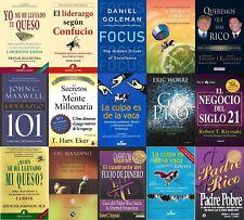 los secretos de la mente millonaria-coleccion 15 libros de liderazgo y negocios