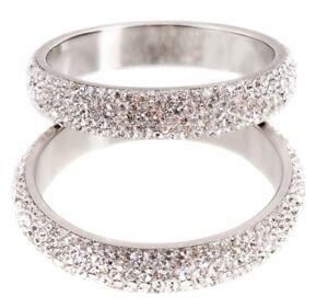 Phoenix Jayy Glitterati Silver Bangle