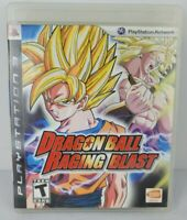 Dragon Ball Raging Blast Sony PlayStation 3 PS3