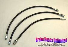 BRAKE HOSE SET Dodge Truck 1 1/2, 2 Ton, WH, WG Series, 1941 1942