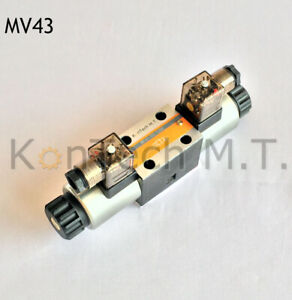 Hydraulik Magnetventil 4 / 3 - Wegeventil - NG06 - CETOP3 - inkl. Stecker